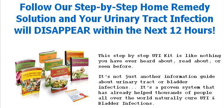 Uti Step By Step Natural Remedy